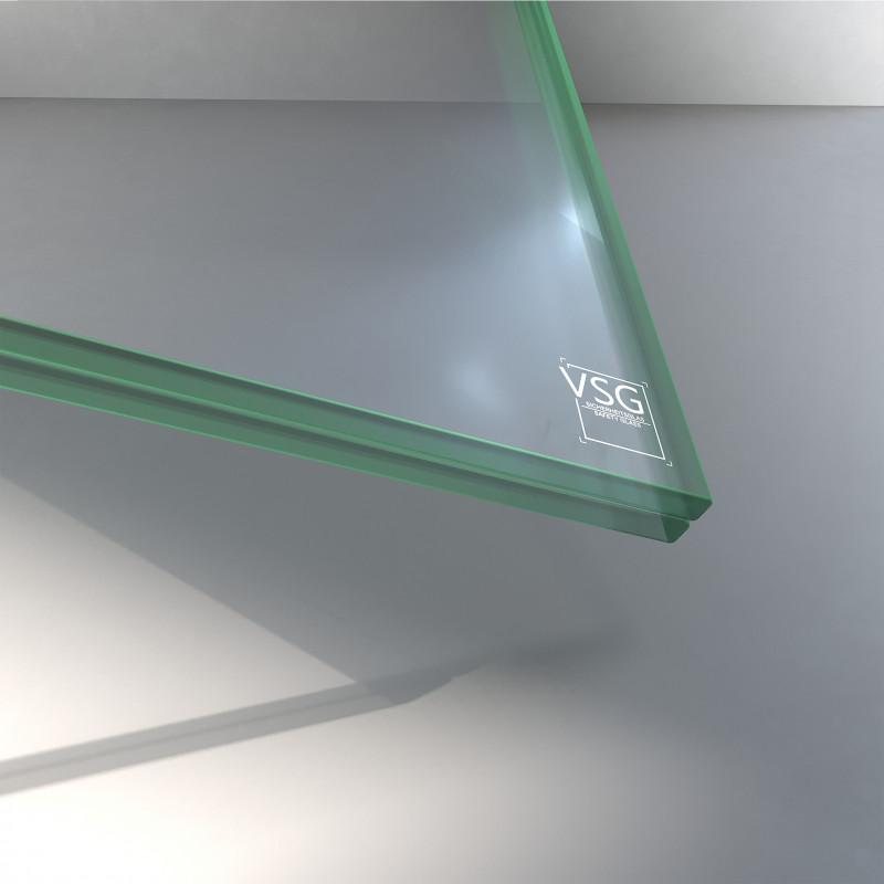 VSG aus TVG Glas 12,76 mm klar