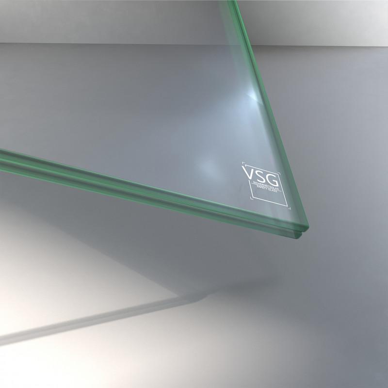 VSG aus TVG Glas 8,76 mm klar