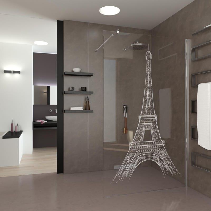 Walk In Dusche Eiffelturm