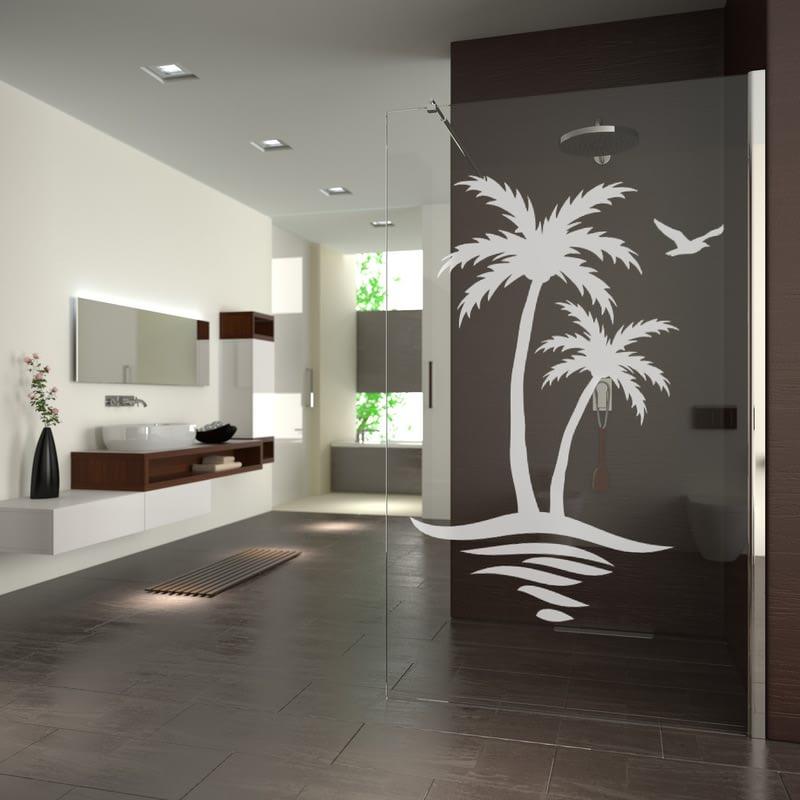 Walk In Dusche mit Palmen Erkelenz