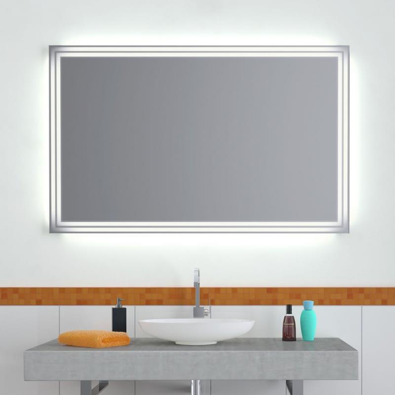 Wandspiegel LED Duplex