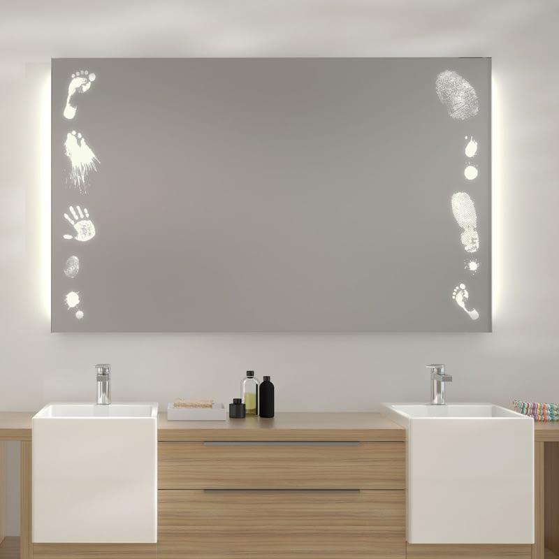 Wandspiegel LED Tatort