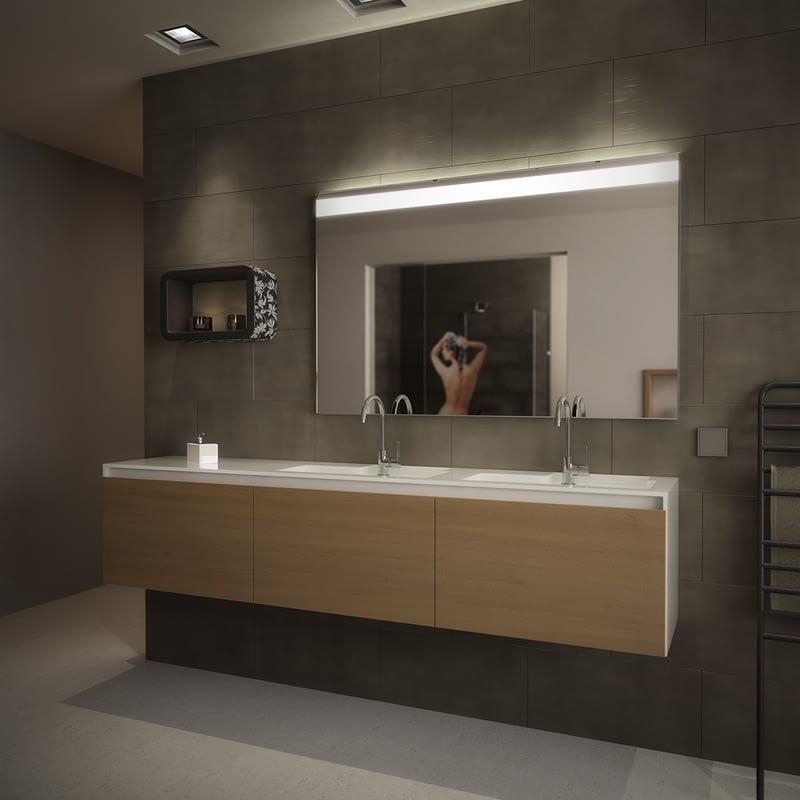 Wandspiegel mit Beleuchtung Zesah
