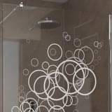 Walk In Dusche Abstract Bubbles