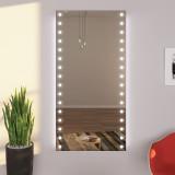 Exklusiver LED Wandspiegel Diele LEAH