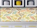Küchenrückwand aus Glas Blätterwald