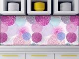 Küchenrückwand aus Glas Pusteblumen
