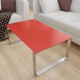 Glas Tischplatte Rot - REF 1586, 6 mm