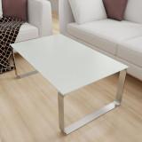 Glas Tischplatte Weiß mit leichtem Grünschimmer - REF 9010, 6 mm