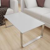 Glasplatte Tisch Grau metallisch glänzend - REF 9007, 6 mm