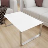 Glasplatte Tisch Weiß / Alpinweiß - REF 9003, 6 mm