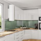 Glasrückwand Küche, Spritzschutz - Grün-Grau / Lindgrün - REF 8715, 6mm