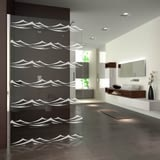 Walk In Dusche mit Wellen Offenburg