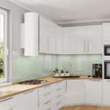 Küchenrückwand, Nischenrückwand - Pastellgrün / Weiß-Grün - REF 8615, 6mm