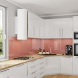 Küchenrückwand, Nischenwand für die Küche - Rot Terracotta - REF 8815, 6mm