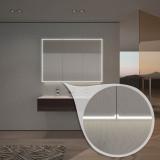 Spiegelschrank nach Maß mit LED-Beleuchtung Aurel
