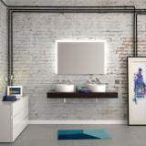 Badspiegel beleuchtet Jolled