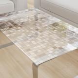 Glastischplatte gelasert mit Motiv - Mosaik