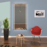 Designer Wandspiegel mit Licht Wohnzimmer LARA