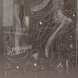 Walk In Dusche mit Motiv Jellyfish