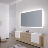 Spiegel mit abgerundeten Ecken Adela