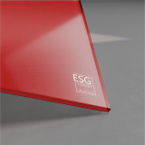 ESG Glas lackiert 6 mm RAL-/NCS-Farbe nach Wahl